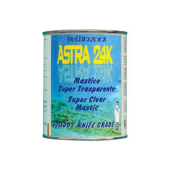 Bellinzoni Astra 24K Super Clear Mastic for Marble & Granite
