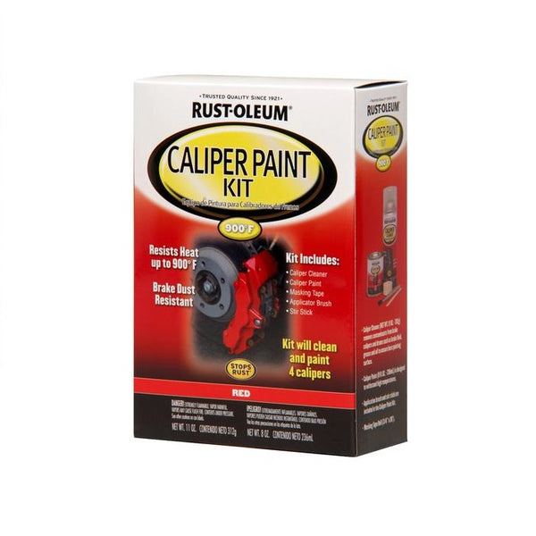 Rust-Oleum Automotive Red Caliper Paint Kit (Paint + Cleaner)