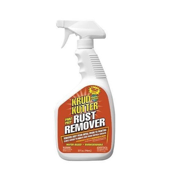 Krud Kutter Rust Remover Spray | Chemical In Gel Spray