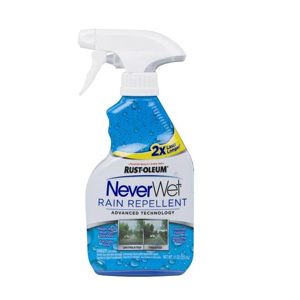 Rustoleum NeverWet Rain Repellent - Nano Coating for Car Windshield