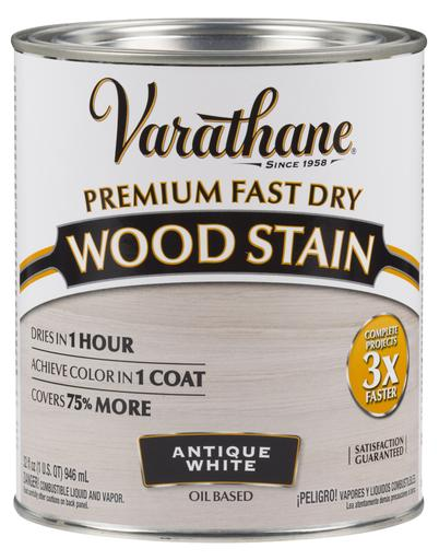 Rust-Oleum Varathane Premium Fast Dry Wood Stains - Antique White - 946 Ml