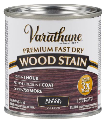 Rust-Oleum Varathane Premium Fast Dry Wood Stains- Black Cherry - 236 Ml