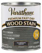 Rust-Oleum Varathan Premium Fast Dry Wood Stains - Carbon Gray - 946 Ml