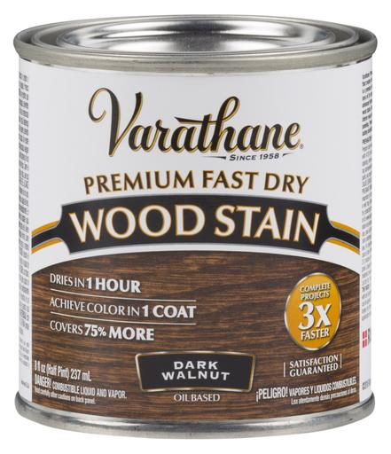 Rust-Oleum Varathane Premium Fast Dry Wood Stains- Dark Walnut - 236 Ml