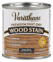 Rust-Oleum Varathan Premium Fast Dry Wood Stains - Golden Mahogany - 236 Ml