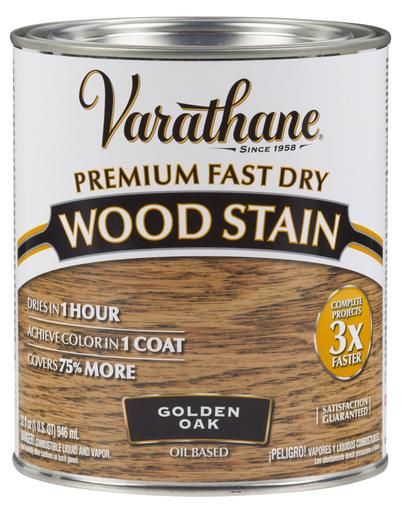 Rust-Oleum Varathane Premium Fast Dry Wood Stains- Golden Oak - 946 Ml
