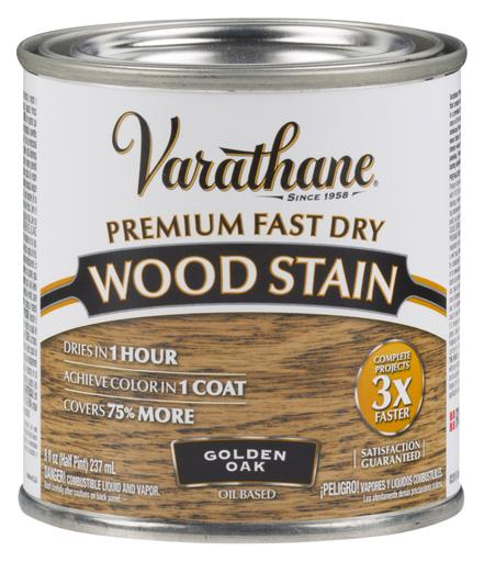 Rust-Oleum Varathane Premium Fast Dry Wood Stains- Golden Oak - 236 Ml