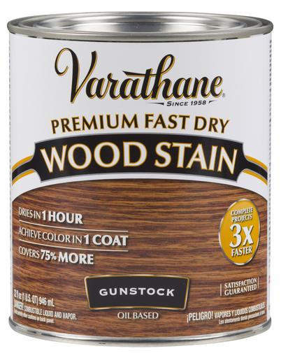 Rust-Oleum Varathane Premium Fast Dry Wood Stains- Gunstock - 946 Ml