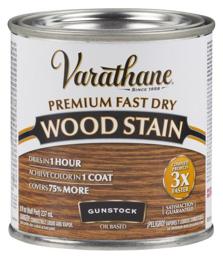 Rust-Oleum Varathane Premium Fast Dry Wood Stains- Gunstock - 236 Ml
