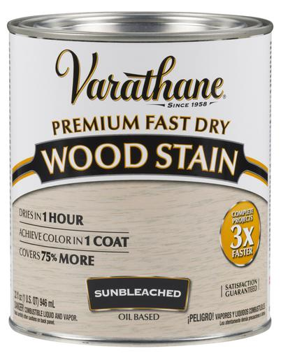 Rust-Oleum Varathan Premium Fast Dry Wood Stains - Sunbleached - 946 Ml