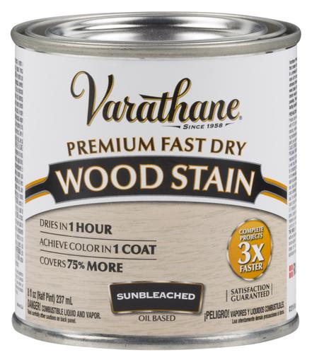 Rust-Oleum Varathan Premium Fast Dry Wood Stains - Sunbleached - 236 Ml