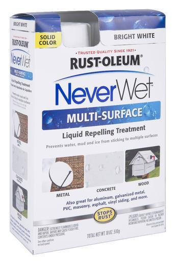 Rust-Oleum NeverWet Liquid Repelling Treatment Spray Kit