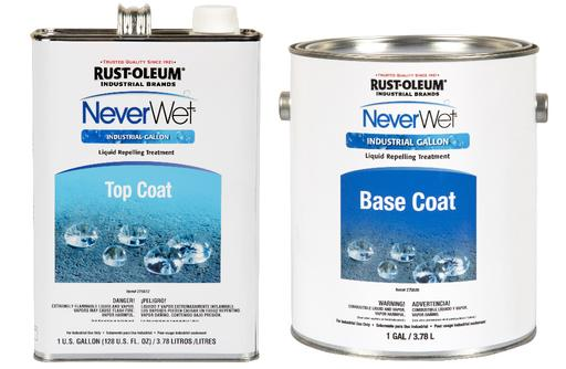 Rust-Oleum NeverWet Industrial Liquid Repelling Treatment - Gallon Set