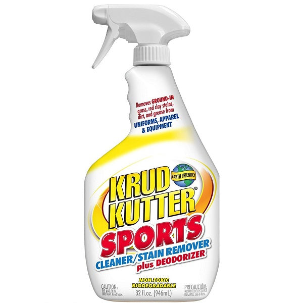 Stain Remover for Clothes: Krud Kutter Sports Cleaner Plus Deodorizer