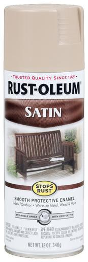 Rust-Oleum Stops Rust Satin Enamel Spray Paint