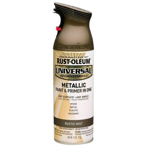 Rust-Oleum Universal Mist Metallic Spray Paint - Carbon Mist