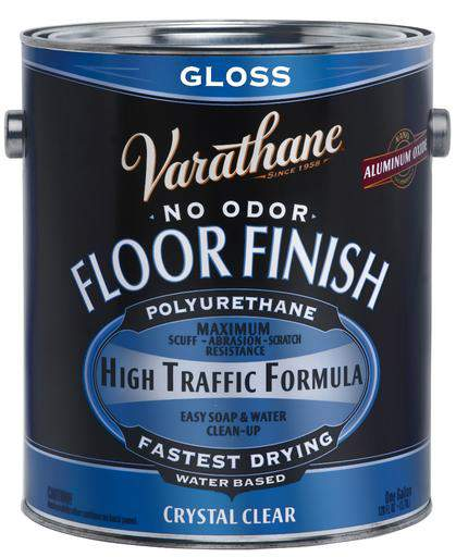 Rust-Oleum Varathane Floor Finish Polyurethane - Water Based - Gloss