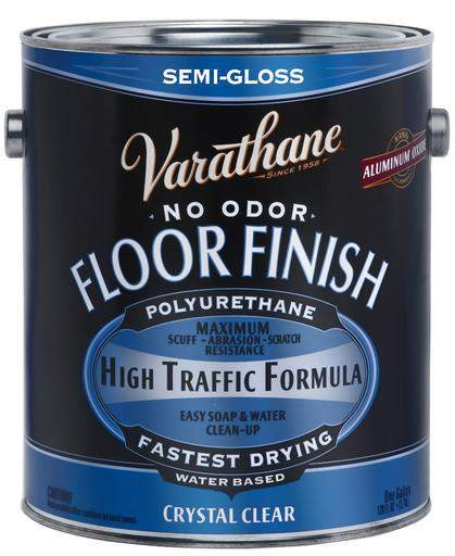 Rust-Oleum Varathane Floor Finish Polyurethane - Water Based - Semi-Gloss