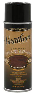 Rust-Oleum Varathane One Step Stain & Polyurethane Spray - Oil Based - Early American