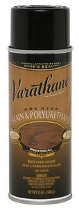 Rust-Oleum Varathane One Step Stain & Polyurethane Spray - Oil Based - Provincial