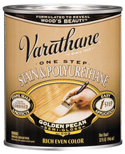 Varathane One Step Stain and Polyurethane - Oil Based - Golden Pecan - 946 Ml