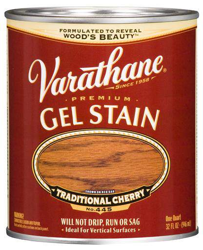 Rust-Oleum Varathane Premium Gel Stain - Traditional Cherry - 946 Ml