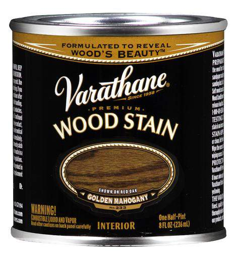 Rust-Oleum Varathane Premium Wood Stains - Gold Mahogany - 236 Ml