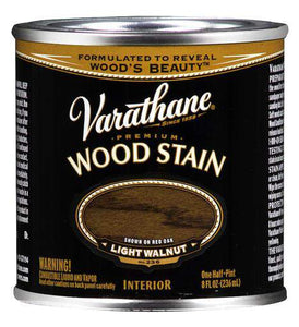 Rust-Oleum Varathane Premium Wood Stains - Light Walnut - 236 Ml
