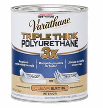 Rust-Oleum Varathane Water-Based Triple Thick Polyurethane for Interior - Satin - 946 ml
