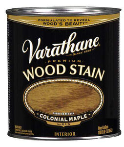 Rust-Oleum Varathane Premium Wood Stains - Colonial Maple - 3.78 Ltr.