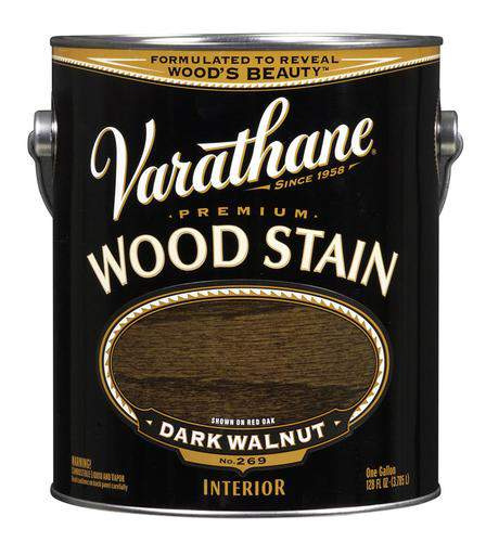 Rust-Oleum Varathane Premium Wood Stains - Dark Walnut - 3.78 Ltr.