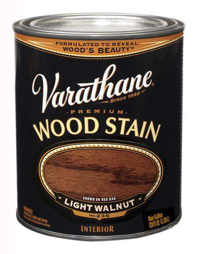 Rust-Oleum Varathane Premium Wood Stains - Light Walnut - 3.78 Ltr.