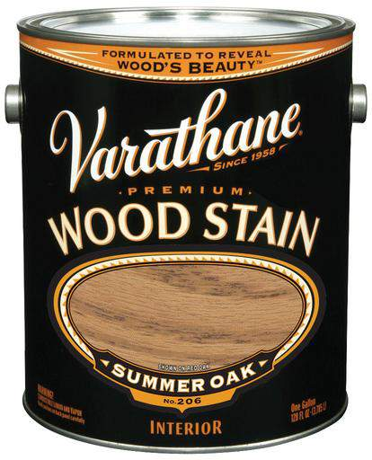 Rust-Oleum Varathane Premium Wood Stains - Summer Oak - 3.78 Ltr.