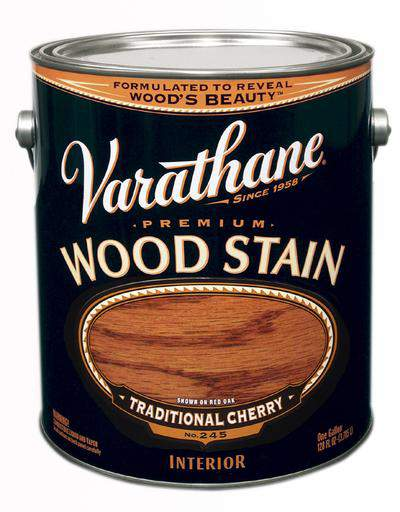 Rust-Oleum Varathane Premium Wood Stains - Traditional Cherry - 3.78 Ltr.