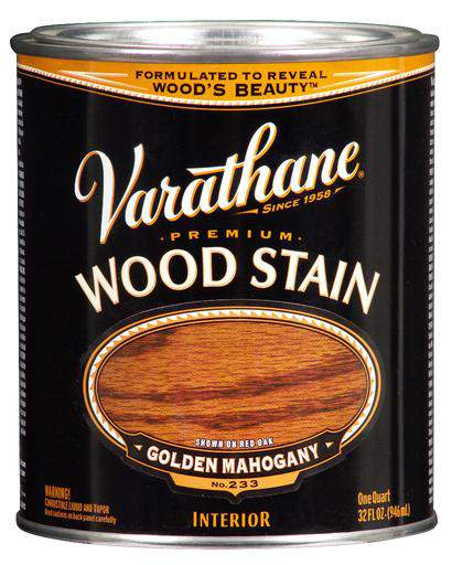 Rust-Oleum Varathane Premium Wood Stains - Golden Mahogany - 946 Ml