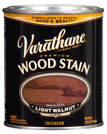 Rust-Oleum Varathane Premium Wood Stains - Light Walnut - 946 Ml