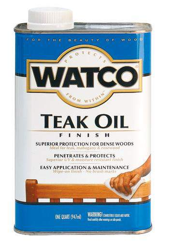 Rust-Oleum Watco Teak Oil for Exterior Wood (UV & Moisture Resistant) - 946 Ml