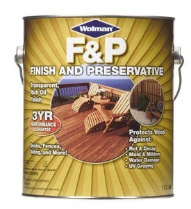 Rust-Oleum Wolman Finish and Preservative - Natural