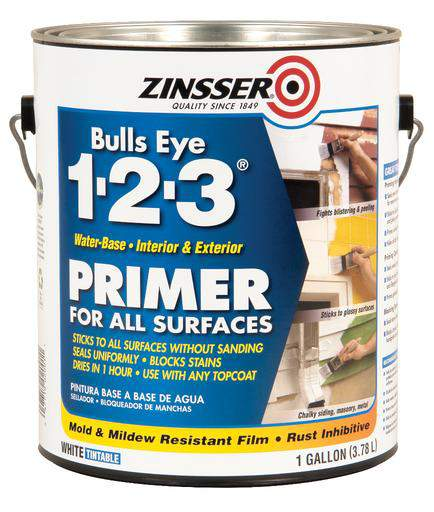 Rust-Oleum Zinsser Bulls Eye 1-2-3 Water-Base Primer