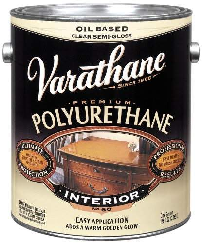 Varathane Oil Based Polyurethane for Interior - Semi-Gloss - 3.78 Ltr.