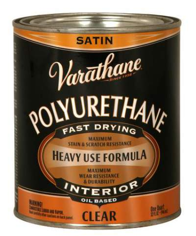 Varathane Oil Based Polyurethane for Interior - Satin - 946 Ml
