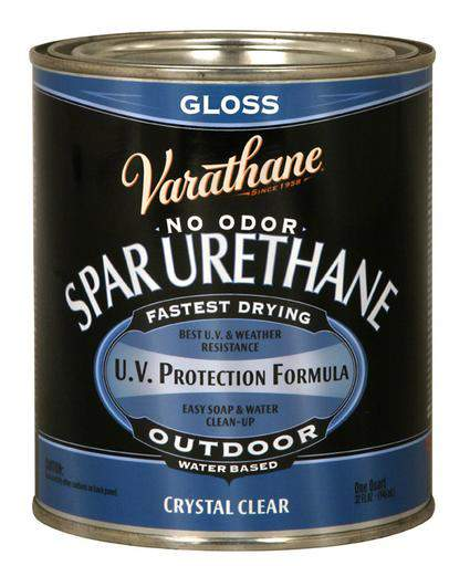 Varathane Water Based Spar Urethane for Outdoor Wood - Gloss - 946 Ml