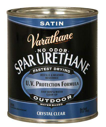 Varathane Water Based Spar Urethane for Outdoor Wood - Satin - 946 Ml