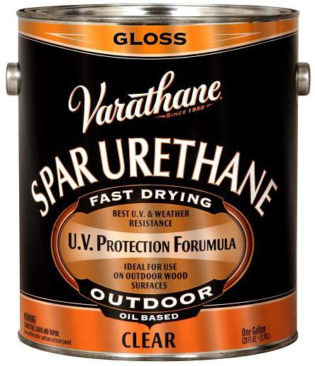 Varathane Oil Based Spar Urethane for Outdoor Wood - Gloss - 3.78 Ltr.