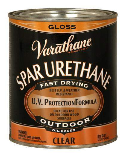 Varathane Oil Based Spar Urethane for Outdoor Wood - Gloss - 946 Ml