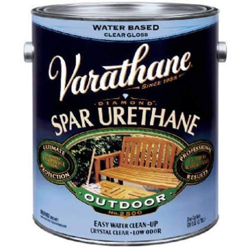 Varathane Water Based Spar Urethane for Outdoor Wood - Gloss - 3.78 Ltr.