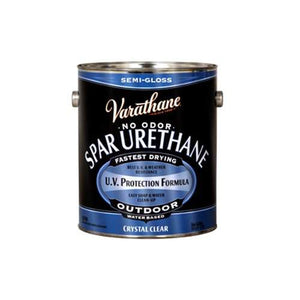 Varathane Water Based Spar Urethane for Outdoor Wood - Semi-Gloss - 3.78 Ltr.