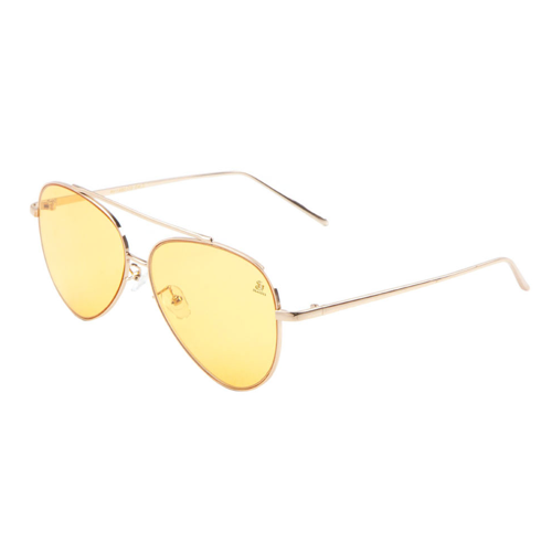 Sunglasses - Sagii Colored Aviators - Yellow - sagii-store