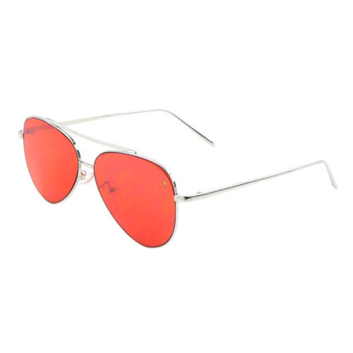 Sunglasses - Sagii Colored Aviators - Red - sagii-store