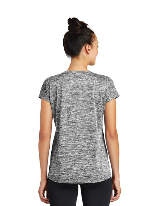 Athleisure SLA Ladies Performance Reflective print Shirt | Womens T-Shirts | Sagii Store | 58.00 USD